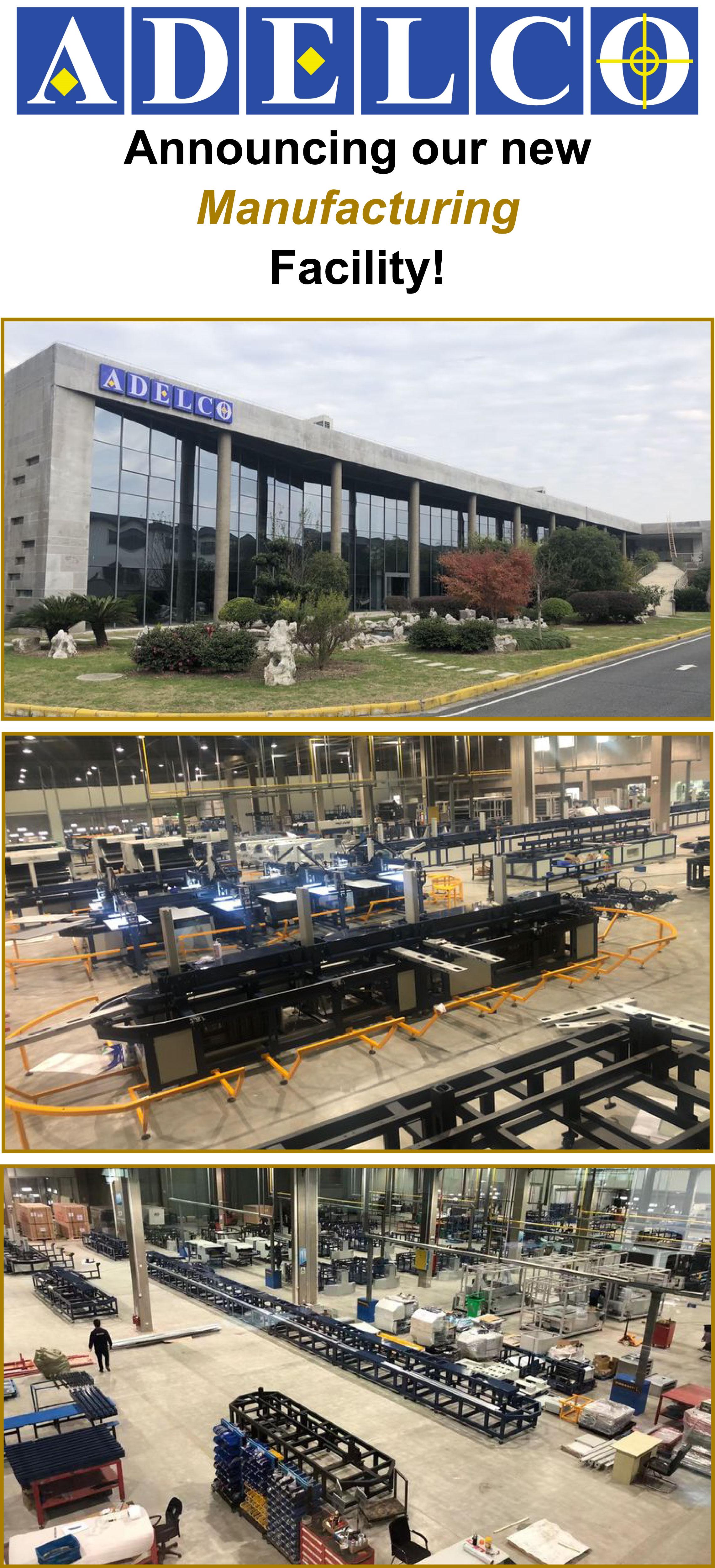 ADELCO社の新工場が完成しました