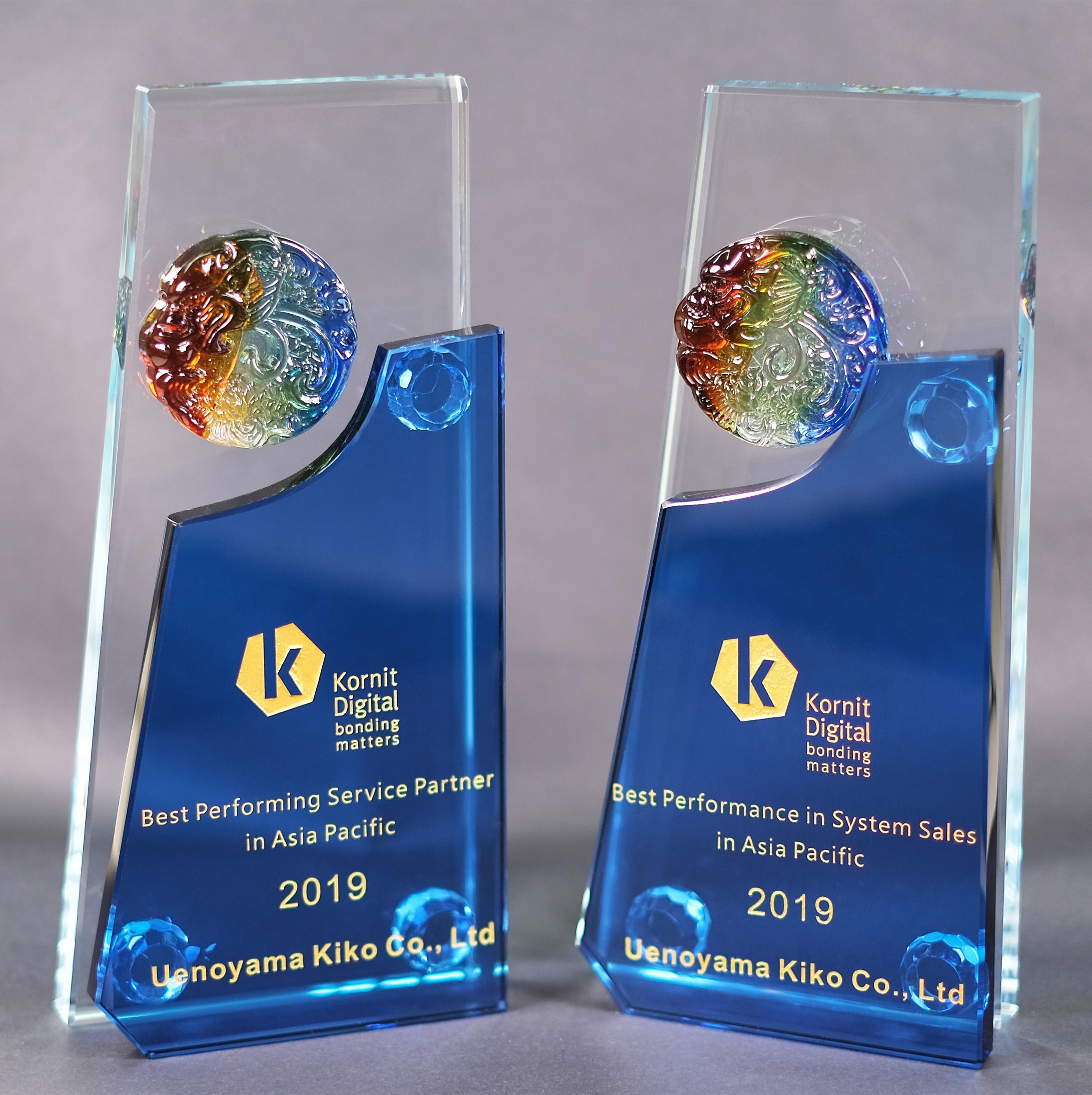 KornitDigital社よりベストパフォーミング賞をダブル受賞しました