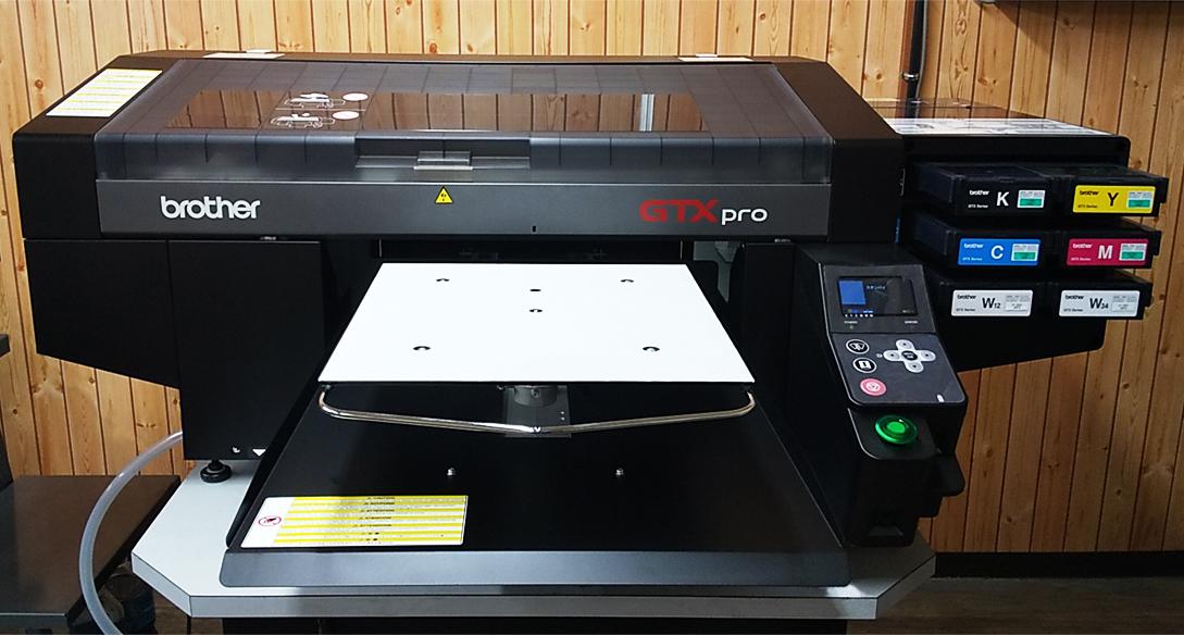 ブラザーGTXproを京都ショールームに設置しました