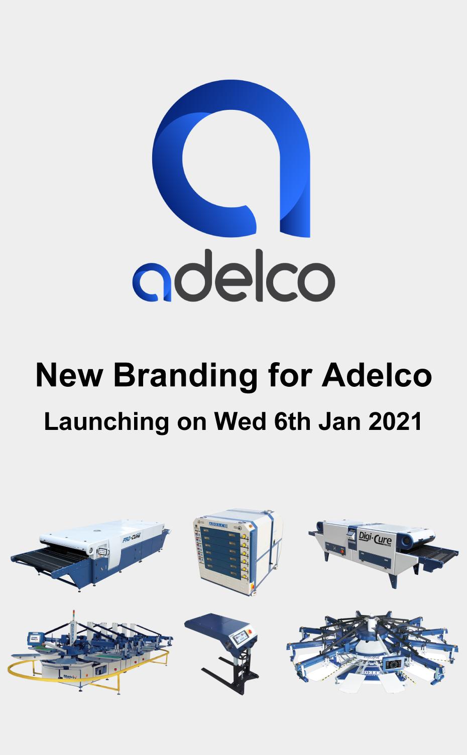 ADELCO社のロゴが新しくなりました