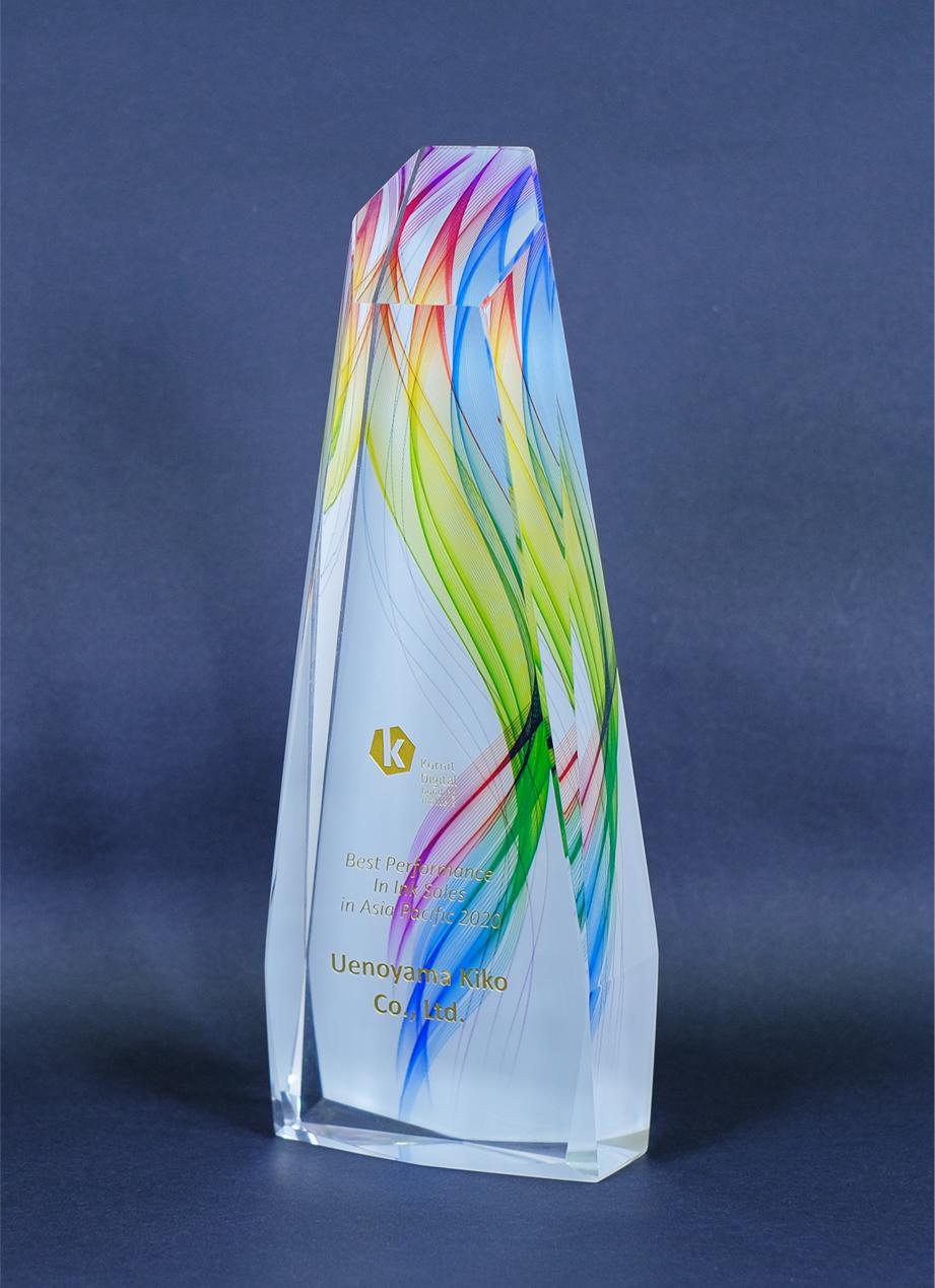 KornitDigital社よりベストパフォーミング賞を受賞しました